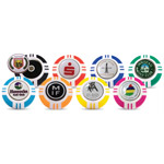 6959 Vegas Poker Chip Dome Markers