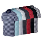 9502 Men Nike Dry Victory Polo Stripe LC (891239)