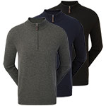 9906 FootJoy Wool Blend 1/2 Zip Pullover