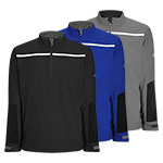 CGRF7029 Callaway 1/4 Zip Chest Stripe Wind Jacket