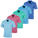 KX65 Greg Norman Performance ML75 Microlux Stripe Polo (KX65)